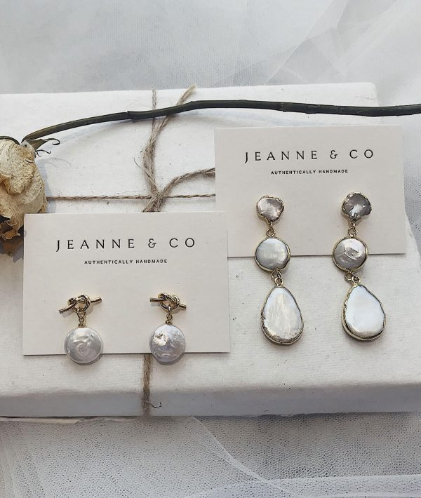 The Blanche Earrings - Jeanne & Co